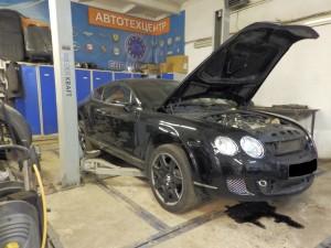 экспертиза Bentley Continental