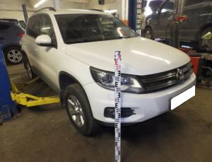экспертиза Volkswagen Tiguan